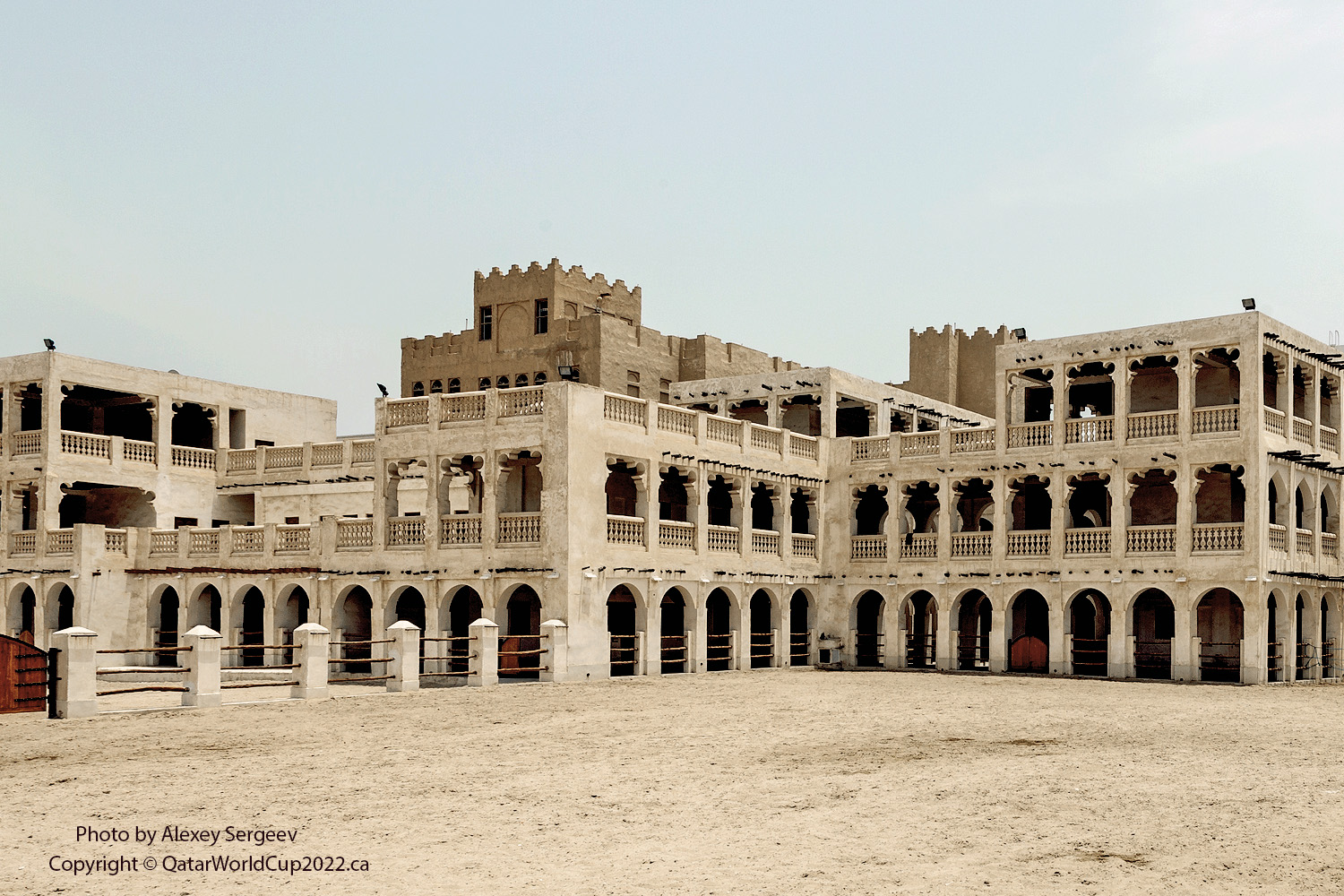 stables at waqif souq